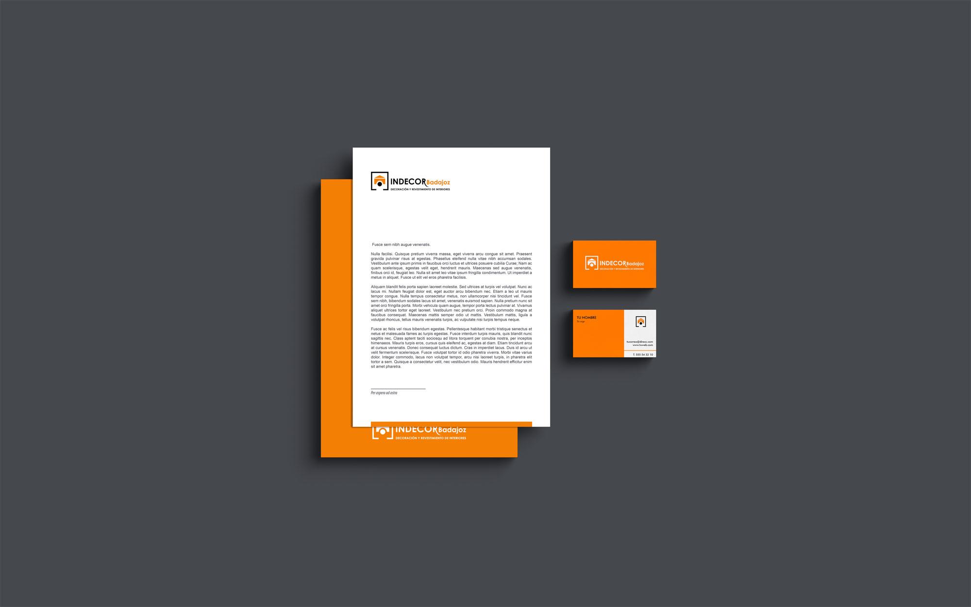 Diseño Branding Indecor