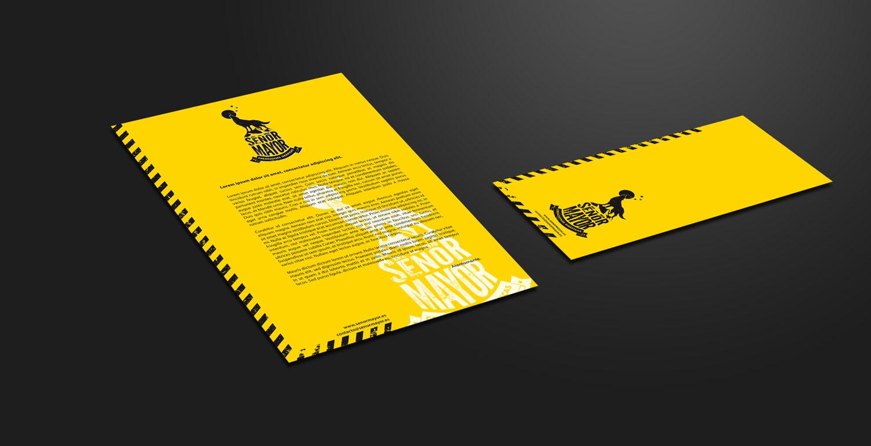 Señor Mayor papelería básica amarilla