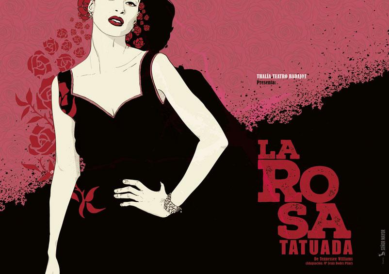 la rosa tatuada programa de mano thalia teatro